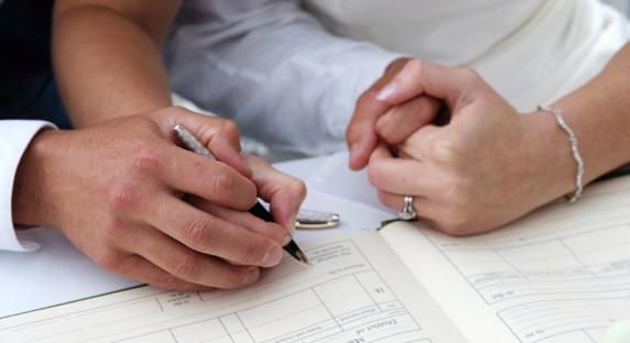 Demande d'acte de mariage avec filiation