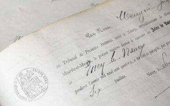 Demande d'acte de naissance sans filiation