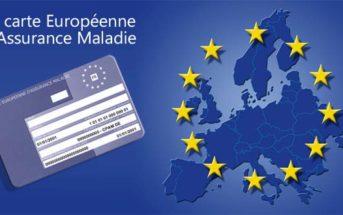 Demande de carte européenne d'assurance maladie